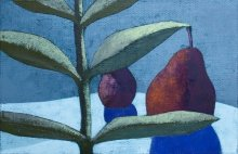 """Ambrosius 5"" • 2011 • oil on canvas • 28 x 43 cm • (private collection)"