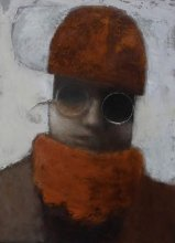 """Winter"" • 2009 • oil on canvas • 40 x 30 cm • (private collection)"