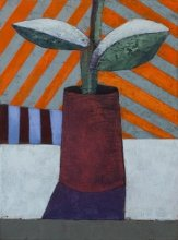"""Sapling"" • 2011 • oil on canvas • 33 x 24 cm • (private collection)"