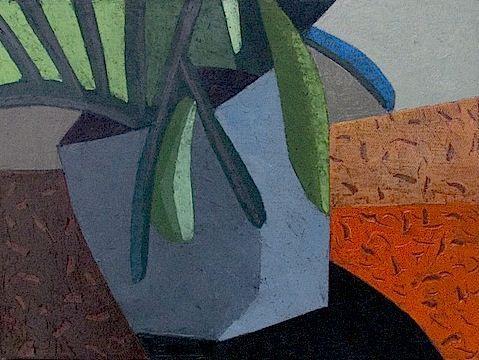 Plant in orange