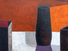 """Simple vase"" • 2013 • oil on canvas • 60 x 80 cm • (private collection)"