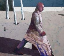 """Meter step"" • 2015 • oil on canvas • 130 x 150 cm"