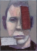 """Face correction"" • 2011 • oil on canvas • 33 x 24 cm"