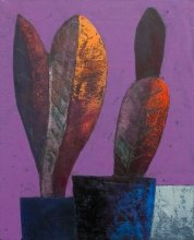 """""""Fourth sapling"""" • 2011 • oil on canvas • 41 x 33 cm • (private collection)"""
