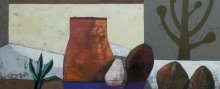 """""""September"""" • 2011 • oil on canvas • 40 x 100 cm • (private collection)"""