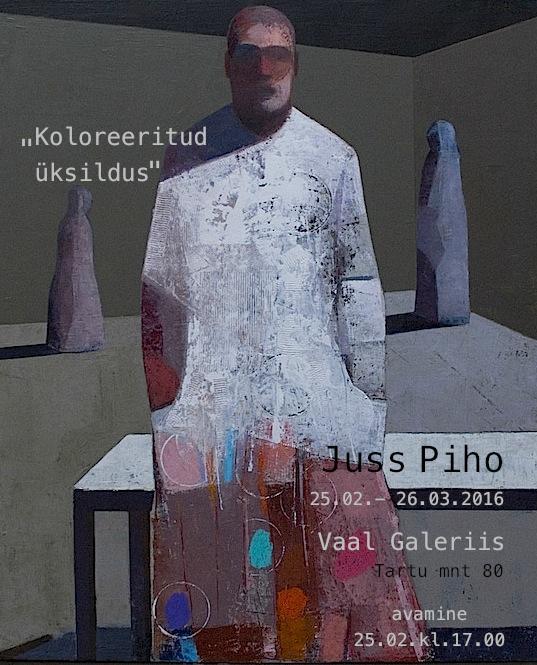 """Art Exhibition """"Koloreeritud üksildus"""""""