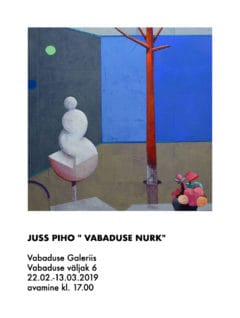 Exhibition in Vabaduse Gallery